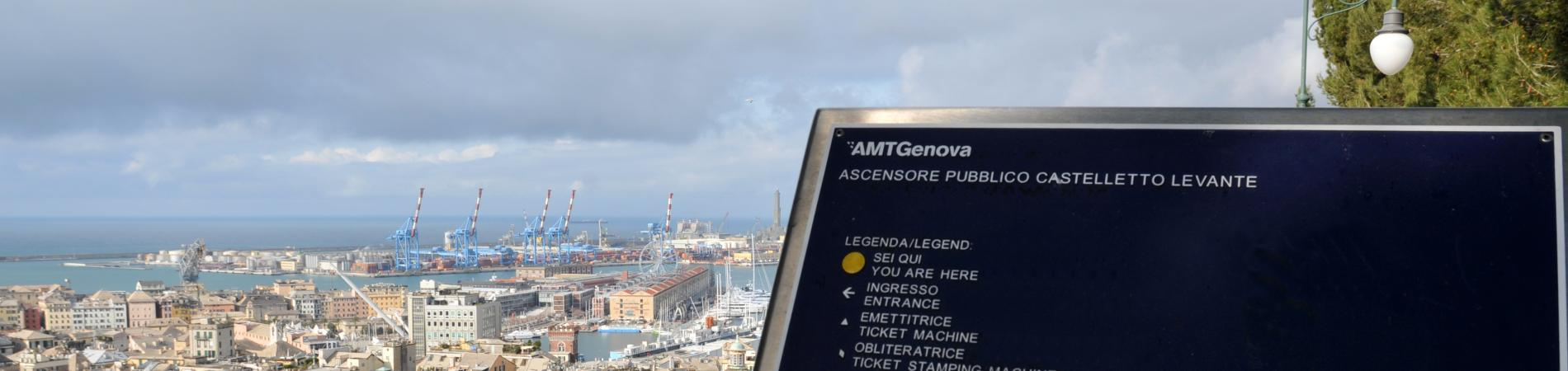 Genova ascensore di Castelletto