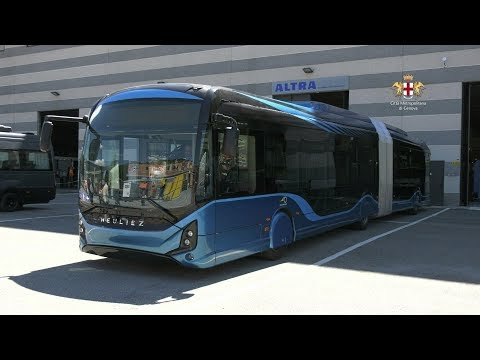 Video: Nuovi bus elettrici nella riviera di levante: un modello per innovazione tecnologica e accessibilità per l'utenza debole