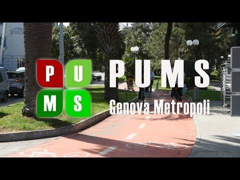 Video: Presentazione del PUMS di GenovaMetropoli