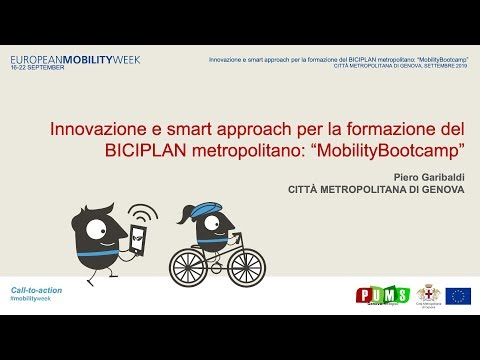 Video: Innovazione e smart approach per la formazione del BICIPLAN metropolitano