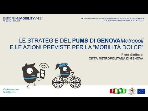 """Video: Le strategie del PUMS e le azioni per la """"mobilità dolce"""""""